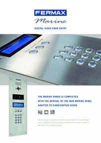 Fermax Marine digital panel brochure