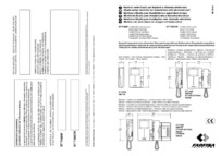 Farfisa instructions for Art. ST7100CW