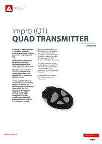 BPT Impro Quad range brochure