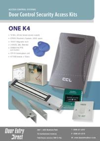 Access control kit ONE K4 data sheet