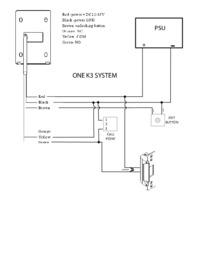 One K3 Wiring