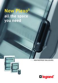 BTicino Plexo weather proof enclosures brochure