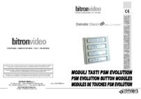 PSM70 evo button modules