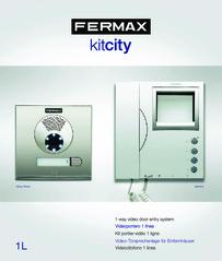 Fermax CITY KIT Brochure 2-wire