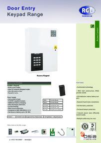 RGL PX2000+ feature sheet