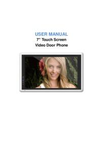 QVK 7 Inch Monitor Brochure
