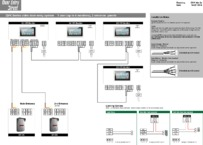 QVK 4 Monitors 2 Entry Panel Full Wiring Diagram