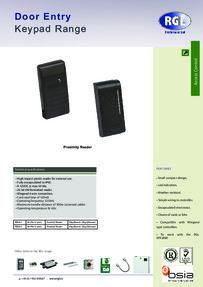 RGL RD26-1 & RD26-C feature sheet