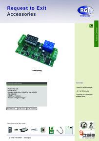 RGL RL03-LED-12/24 feature sheet