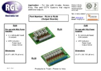 RGL RL08-RL04 data sheet