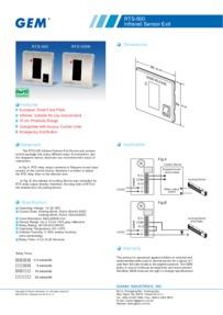 RTS500/N data sheet