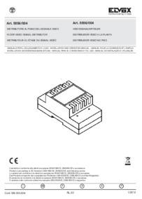Elvox 5556/004 installation manual