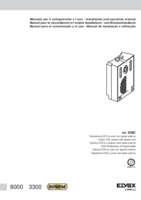Elvox 559C installation manual