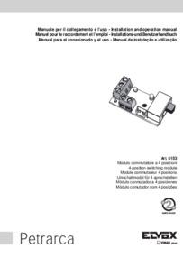 Elvox 6153 installation manual