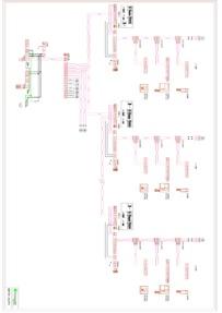 Comelit 1424 - Wiring diagram SIMPLEBUS TOP 010PX