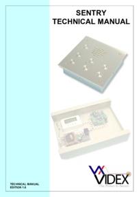 Videx Sentry System Manual