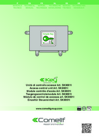 SK9001I Installation Instructions