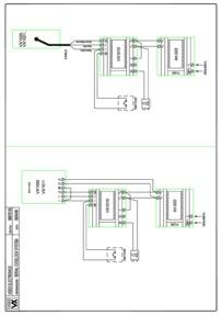 Videx Slim Code Lock (with VX1010) wiring diagram