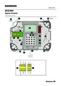 SR35I Installation Instructions