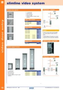 SRS slimline 6 wire - data sheet