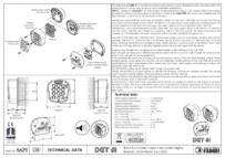 BPT Fadini DGT 61 technical data