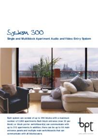 BPT System 300