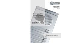 Golmar T500EN rev0105 Installation Manual