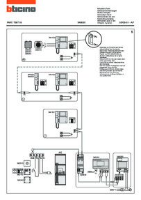 Bticino wiring diagram for 346830