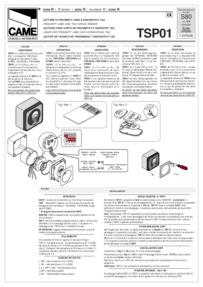 TSP01 Installation Manual