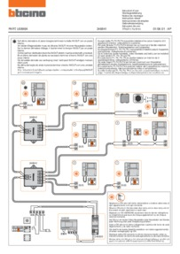 Bticino wiring diagram for 346841