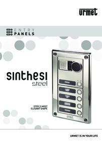 Urmet Sinthesi Steel brochure