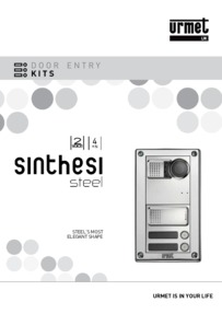 Urmet Urmet S-Steel Catalogue KITS 2016 brochure