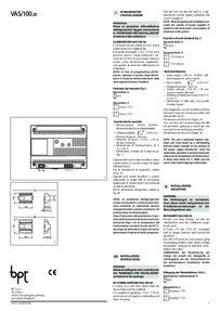 VAS/100.30 instructions