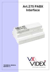 Videx 275 Manual