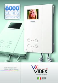 Videx 6000 Series Brochure