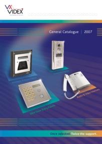 Videx Full Catalogue 2007