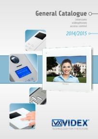Videx General Catalogue 2014-2015