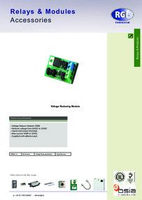 RGL VRM24V-12V - feature sheet