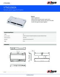 Dahua VTNS1060A PoE Switch