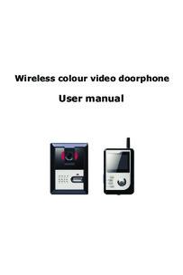 Instructions for VU-COM 2000