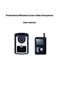 Instructions for VU-COM 3000