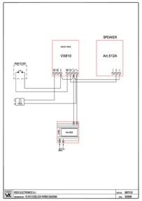 Videx VX810WD Connection Guide