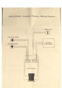 Videx VX812 & VX814 Connection Guide