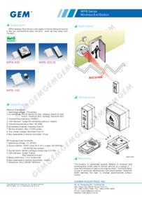 WPB data sheet