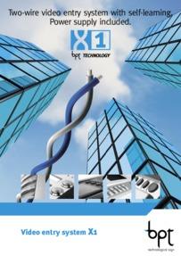 BPT X1 Brochure