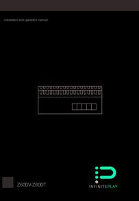 Z60DV-Z60DT power distributor manual