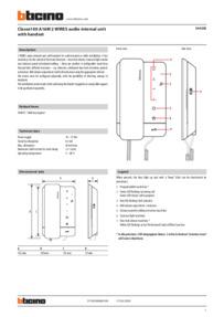344292 Technical Data Sheet
