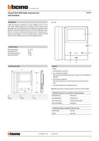 344625 Technical Data Sheet