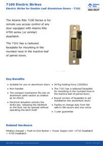 7101-340-628 Data Sheet