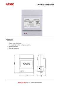 A2300 Datasheet
